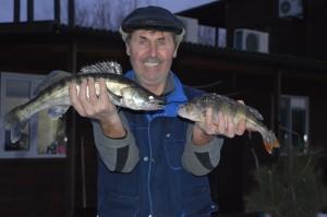 Зимняя рыбалка на нижней Волге